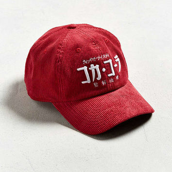 Coca-Cola Japanese Corduroy Hat | Urban Outfitters