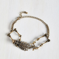 ModCloth Urban Carpal Diem Bracelet in Gold
