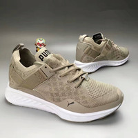 """PUMA"" Fashion Casual Knit Unisex Sneakers Couple Running Shoes"