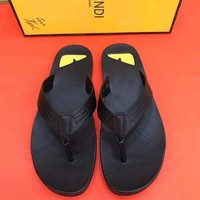 FENDI: Casual Fashion Women Man Sandal Slipper Shoes