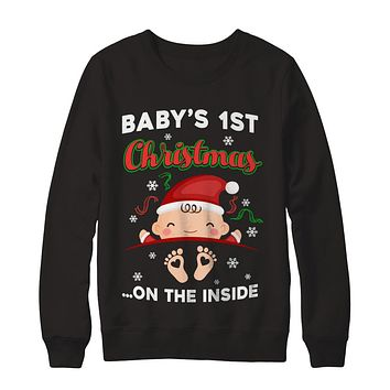 Baby's 1St Christmas On The Inside Pregnant