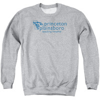 HOUSE/PRINCETON PLAINSBORO - ADULT CREWNECK SWEATSHIRT - ATHLETIC HEATHER -