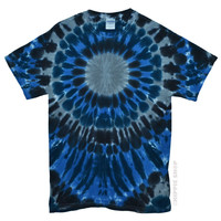 Darkside Burst Tie Dye T Shirt on Sale for $16.95 at HippieShop.com