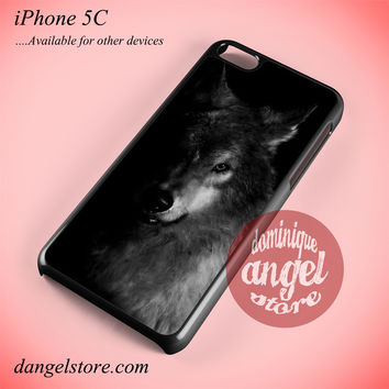 Wild Wolf Phone case for iPhone 5C and another iPhone devices