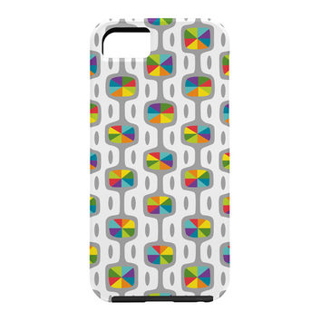 Andi Bird Double Dipper Grey Cell Phone Case