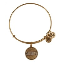 Alex and Ani Georgetown University® Logo Charm Bangle - Russian Gold
