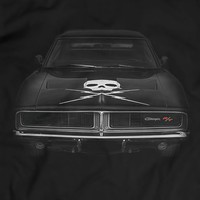 Dodge Charger R/T 1969 T-Shirt Unisex Black Holiday Gift Birthday