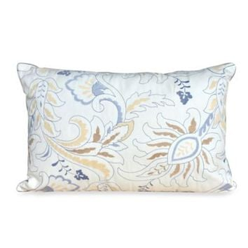 Nostalgia Home™ Valinda Oblong Toss Pillow in Grey