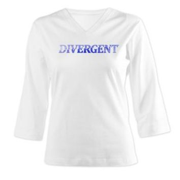 Women's Long Sleeve Shirt (3/4 Sleeve)> Divergent Fog> Your Entertainment
