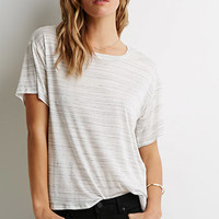 Stripe Slub Knit Tee