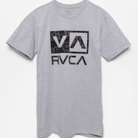 RVCA Balance Box Dan Banna T-Shirt - Mens Tee - Grey