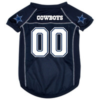 Dallas Cowboys Deluxe Dog Jersey - Medium