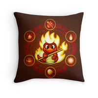 'Salamando' Throw Pillow by likelikes