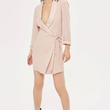 Tie Side Blazer Dress | Topshop