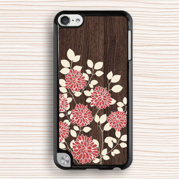 Chrysanthemum ipod case,idea ipod cover,art wood flower ipod 4 case,elegant ipod touch case,wood flower ipod 5 case,art flower ipod 4 case,peony ipod case,women's gift case,girl's gift case,sister's gift case,Wedding gift,best seller case
