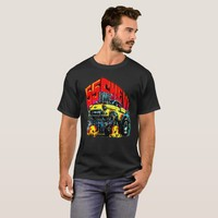 1955 Chevy muscle car. T-Shirt