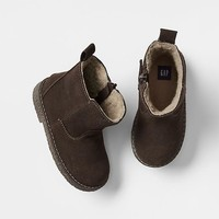Gap Baby Sherpa Chelsea Boots