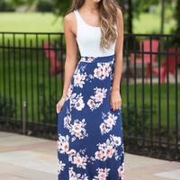 Melody For You Floral Maxi