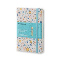 LIMITED EDITION PETIT PRINCE POCKET RULED WHITE CANVAS - PATTERN