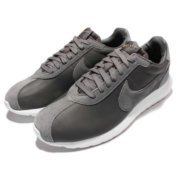 Nike Roshe Ld-1000 Premium Qs Leather Grey Men Running Shoes Atmos 842564-002