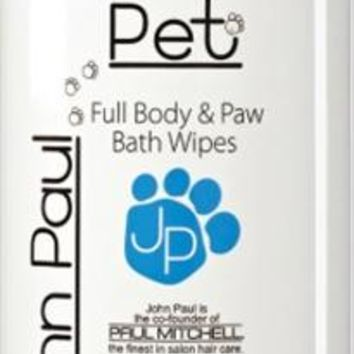 John Paul Pet Wipes, Body & Paw