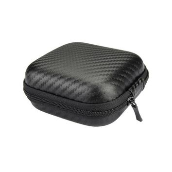 Portable Wholesale Earphone Headphones Box Case Storage Bag For Earphone Earbuds Hard Case Cables SD Cards