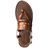 Women's Mossimo Supply Co. Sonora Flat Sandal - Cognac