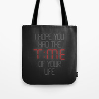 I hope you had the time of your life - Greenday Tote Bag by g-man