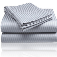 ComfortLiving Color 4-Piece Sheet Set Full - Grey