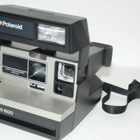 Vintage Spirit 600 Polaroid Instant Camera Light Management System 1970s