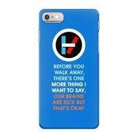 twenty one pilots iPhone 7 Case