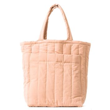 Quilted Pocket Tote