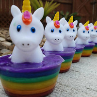 Unicorn Soap - Unicorn Gift - Unicorn Party - Unicorn Party Favor - Magical Party Favor - Unicorn Birthday Party - Novelty Soap - Kids Soap