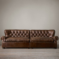 Churchill Leather Daybed