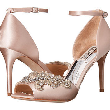Badgley Mischka Barker Light Pink Satin - Zappos.com Free Shipping BOTH Ways