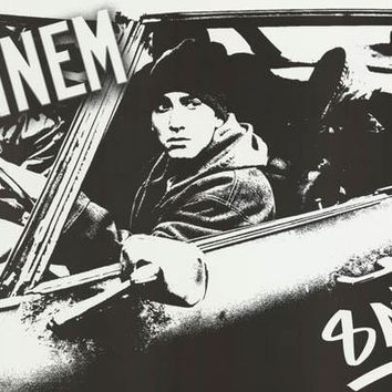 Eminem 8 Mile 2002 Movie Poster 22x34