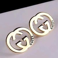 8DESS GUCCI Women Fashion Stud Earring Jewelry