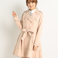 LIZ LISA Trench Coat Dress