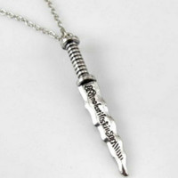 Rumplestiltskin Dagger Necklace