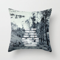 Taking the journey Throw Pillow by ingz