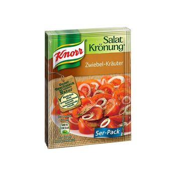 Knorr - Salat Kroenung Onion and Herb Salad Dressing 5 Pack