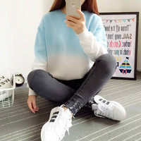 Soft Ombre Sweater