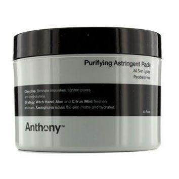 Logistics For Men Purifying Astringent Pads (For All Skin Types)