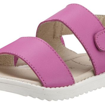 Old Soles Girl's Fuchsia Shuk Leather Sandals
