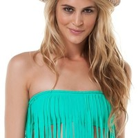 BOYS AND ARROWS FRINGE BANDEAU BRAID