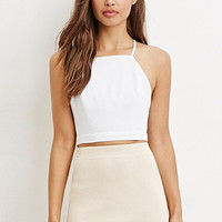 Crisscross-Back Cropped Cami