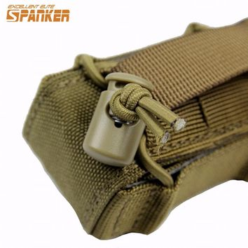 Spanker Tactical 1000D Molle Pistol Gun Holster Magazine Pouch Outdoor Airsoft Military Hunting Flashlight Torch Ammo Pouche Bag