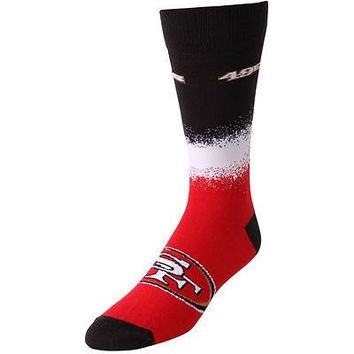 SAN FRANCISCO 49ERS MARQUEE SOCKS SIZE MEDIUM BRAND NEW FOR BARE FEET