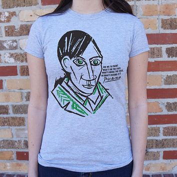 Pablo Picasso Quote Women's T-Shirt