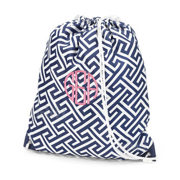 Shop Etsy Monogrammed Backpack on Wanelo